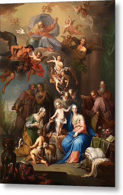 The Holy Family Metal Print by Mountain Dreams