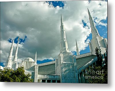 The House Of The Lord Metal Print by Nick  Boren
