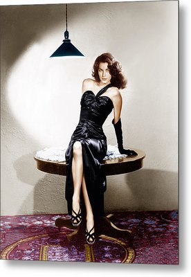 The Killers, Ava Gardner, 1946 Metal Print