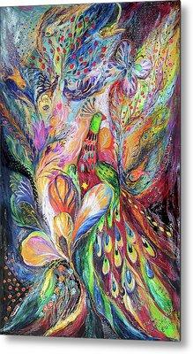 The King Bird Metal Print by Elena Kotliarker