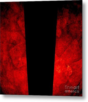 The Lamp Metal Print by CML Brown