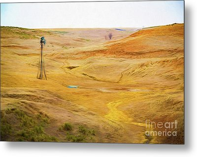 The Land Metal Print