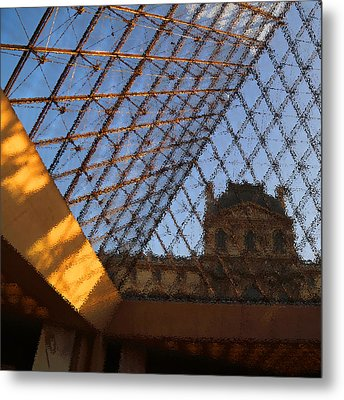 The Louvre Metal Print by Peg Owens