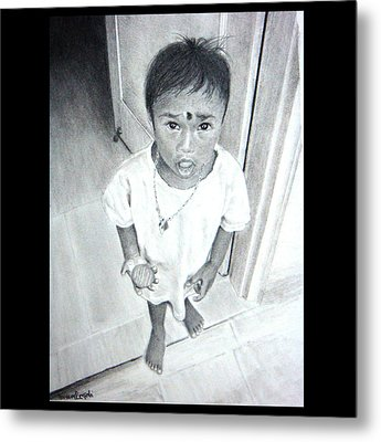 The Maid's Nephew Metal Print