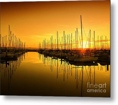 The Marina Metal Print by Scott Cameron