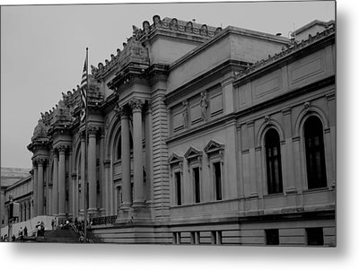 The Metropolitan Museum Of Art Metal Print