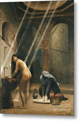The Moorish Bath Metal Print