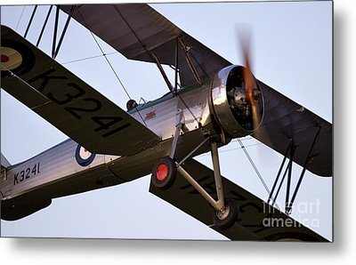 The Old Aircraft Metal Print