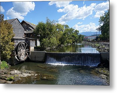 The Old Mill Metal Print by Laurie Perry
