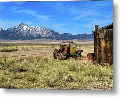 Metal Print featuring the photograph The Old One by Robert Bales