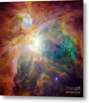 The Orion Nebula Metal Print by Stocktrek Images