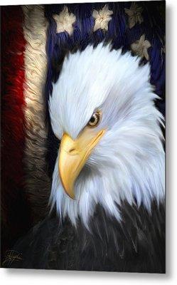 The Patriot Metal Print