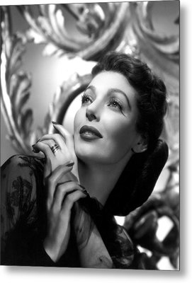 The Perfect Marriage, Loretta Young Metal Print by Everett