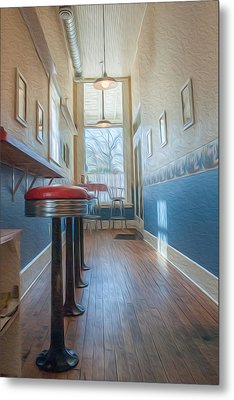 The Pie Shop Metal Print