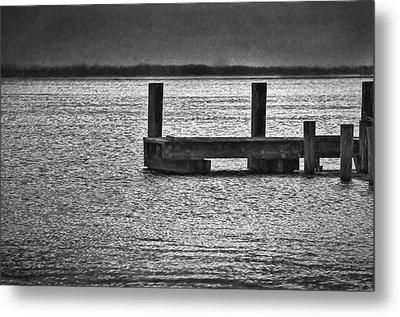 The Pier Metal Print by Dave Bosse
