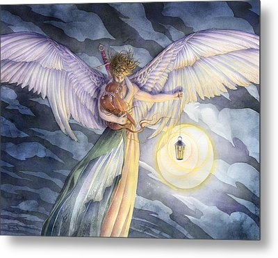 The Protector Metal Print by Sara Burrier