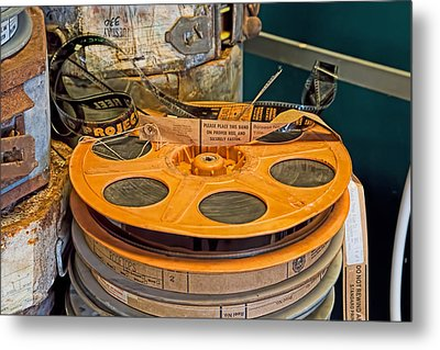 The Reel Thing  Metal Print