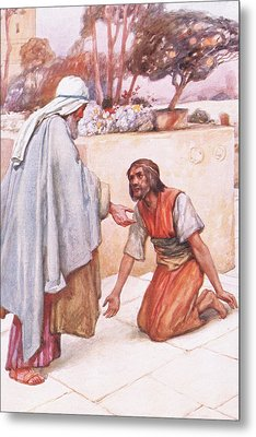 The Return Of The Prodigal Son Metal Print by Arthur A Dixon