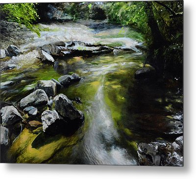 The River At Lady Bagots Metal Print