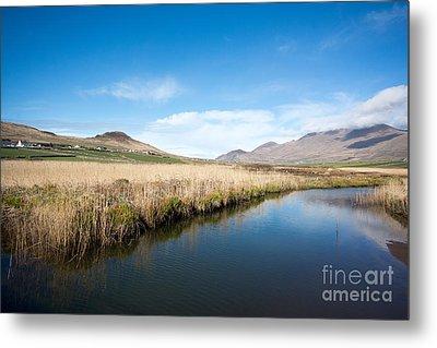 The River Feoghanagh Metal Print by Nichola Denny