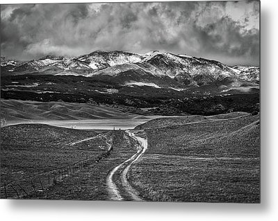 The Road That Leads You Home Metal Print