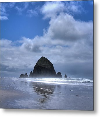 Metal Print featuring the photograph The Rock by David Patterson