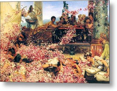 The Roses Of Heliogabalus Metal Print