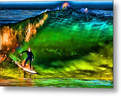 Metal Print featuring the photograph The Shadow Within by John A Rodriguez