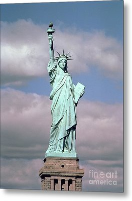 The Statue Of Liberty Metal Print