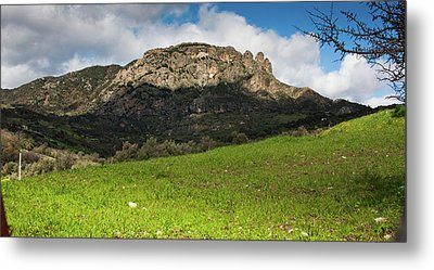 The Three Finger Mountain Metal Print by Bruno Spagnolo