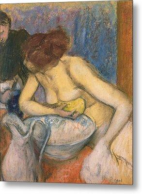 The Toilet Metal Print by Edgar Degas