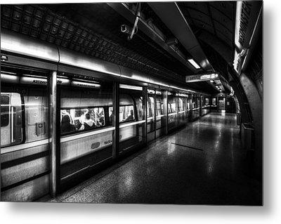 The Underground System Metal Print