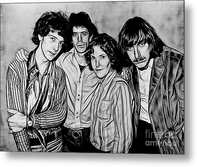 The Velvet Underground Collection Metal Print by Marvin Blaine
