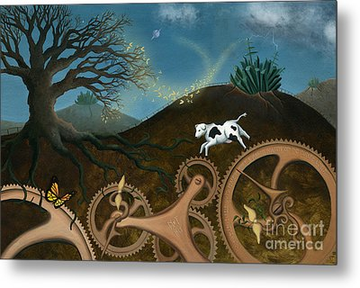 The Volunteers Metal Print by Denise M Cassano