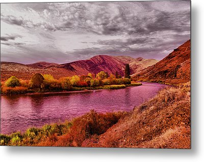 Metal Print featuring the photograph The Yakima River by Jeff Swan