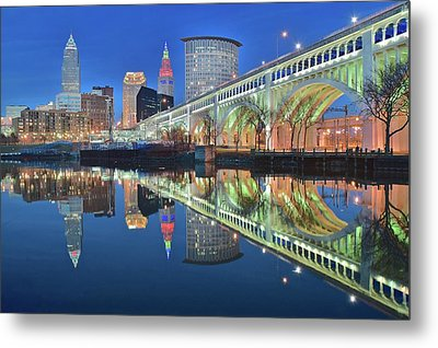 This Is Cleveland Metal Print