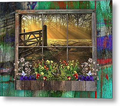 This Is Country Collection Metal Print by Marvin Blaine
