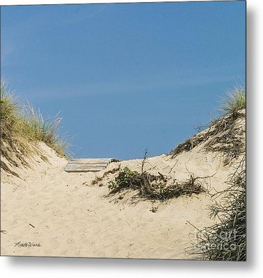 Metal Print featuring the photograph This Way To The Beach by Michelle Wiarda
