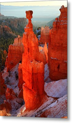 Thor's Hammer In Bryce Canyon Metal Print by Pierre Leclerc Photography