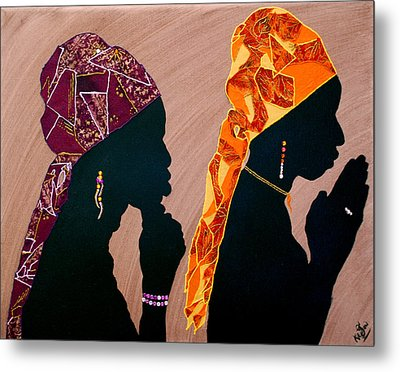 Thought And Prayer Metal Print by Kayon Cox