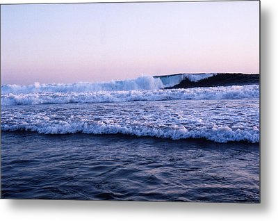 Metal Print featuring the photograph Three Waves by Lyle Crump