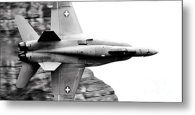 Thrust Metal Print by Angel  Tarantella