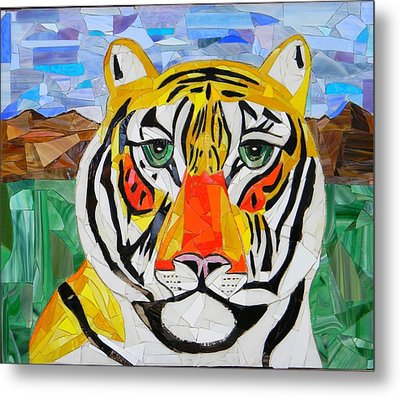 Tiger Metal Print by Charles McDonell