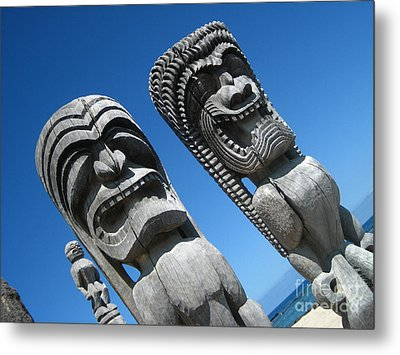 Tiki Gods Metal Print by Brian Governale