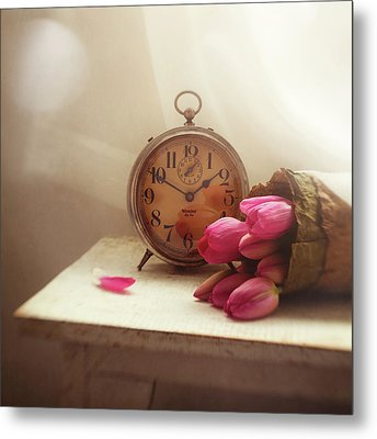 Time Stood Still Metal Print by Amy Weiss
