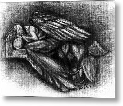 To Much To Bare Metal Print by Elizabeth Guilkey