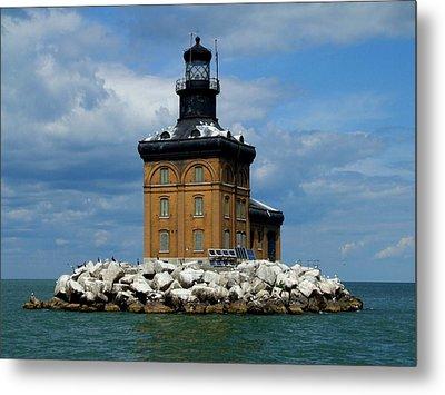 Toledo Harbor Lighthouse Metal Print