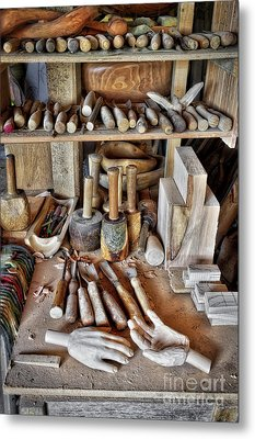 Tools Of The Trade Metal Print by Tim Gainey