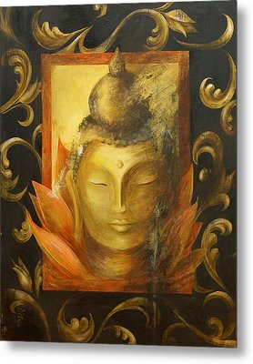 Metal Print featuring the painting Transcendence by Dina Dargo