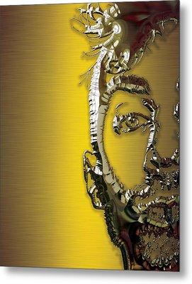 Travis Barker Blink 182 Collection Metal Print by Marvin Blaine